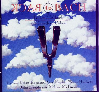 Julian Colbeck Back to Bach front cover