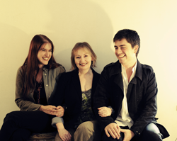Mary Hopkin and her children Morgan Visconti and Jessica Lee Morgan