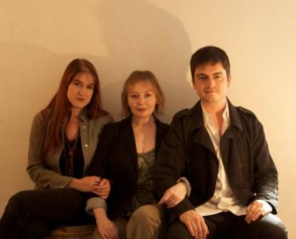 Mary Hopkin and her children Jessica Lee Morgan and Morgan Visconti
