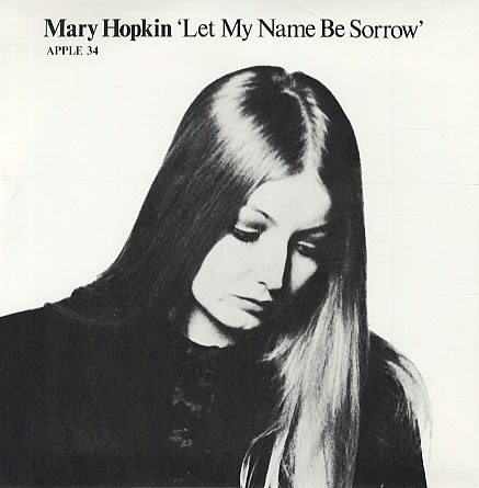Let My Name Be Sorrow UK Single APPLE 34