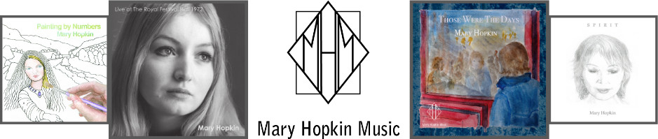 Mary Hopkin Music Web Banner