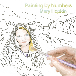Mary Hopkin Painting by Numbers